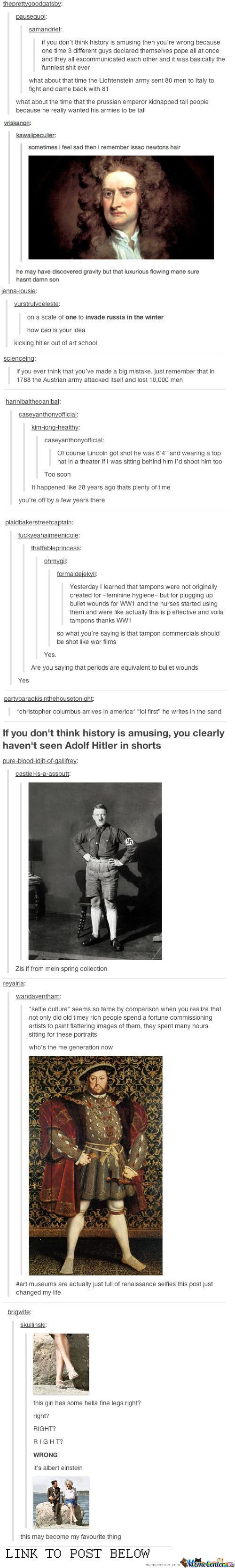 Tumblr About History