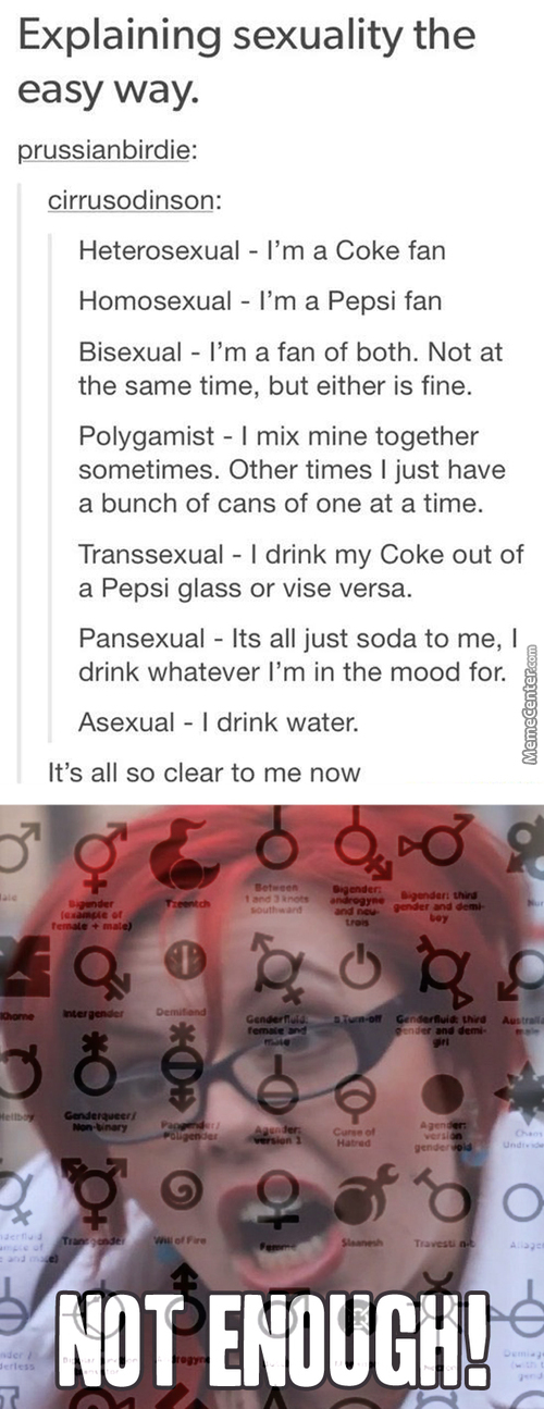 Tumblr Explaining Genders