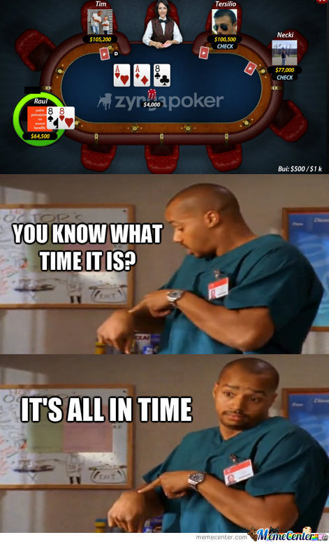 Turk Goes All In