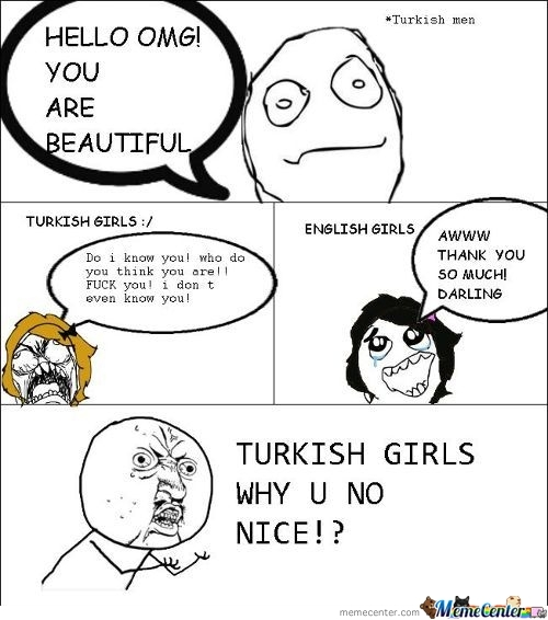 Turkish Girls Vs. British Girls