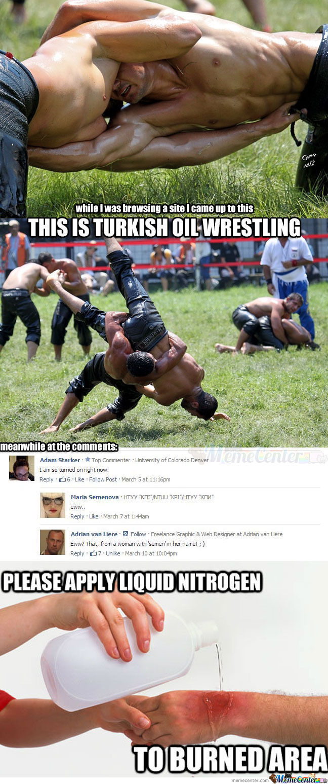 Turkish Oil Wrestling