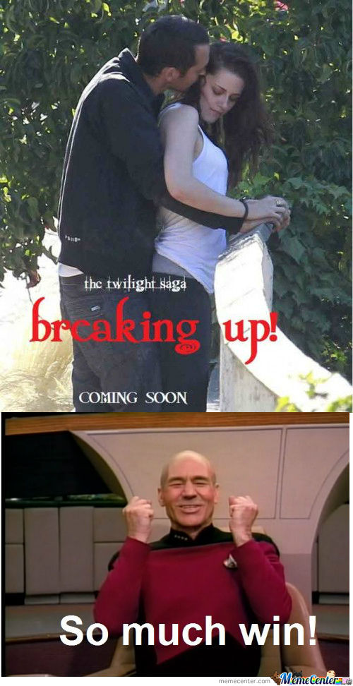 Twilight Saga: Breaking Up