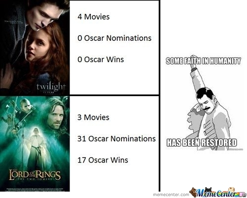 Twilight Vs. Lord Of The Rings