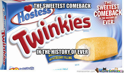 Twinkies Are Back!!!