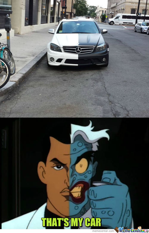 Two Face's Car.
