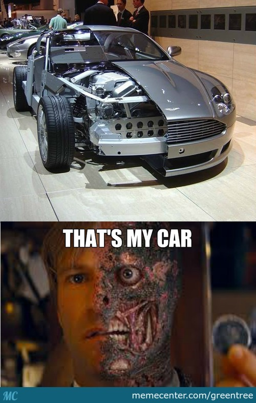 Two Face's Car!