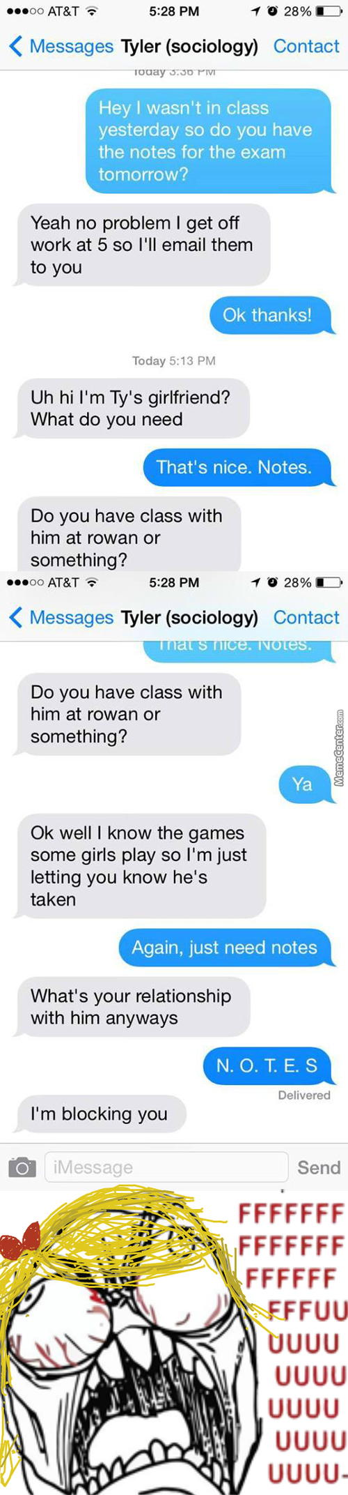 Tyler Needs To Get A New Girlfriend
