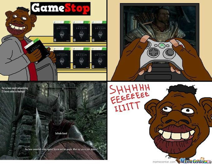 Tyrone Plays Skyrim