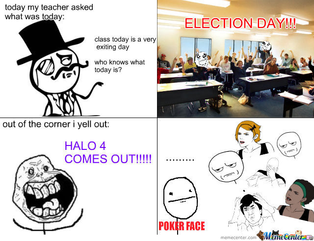 U_U Only One Who Knew What Halo Was In My Class
