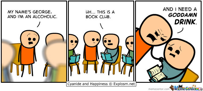Uhm.. Sir, This Is A Book Club.