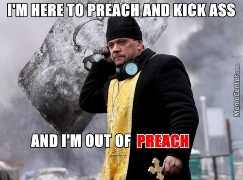Ukraine: Cleric Level +99