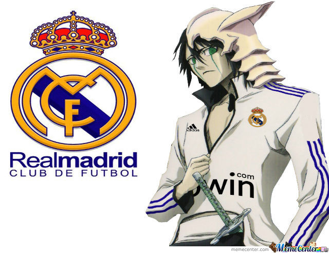 Ulquiorra Real Madrid