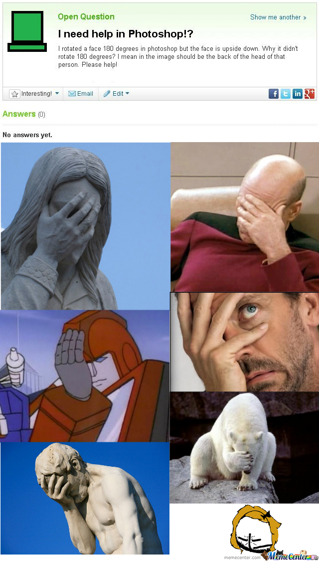 Ultimate Facepalm