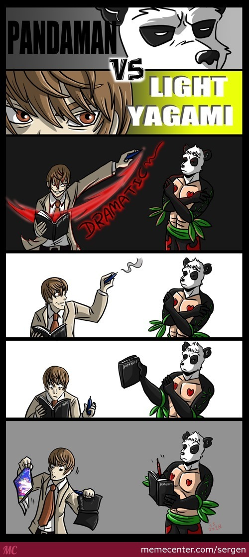 Ultimate Pandaman Pirat King Of The Saiyans Vs Light Yagami