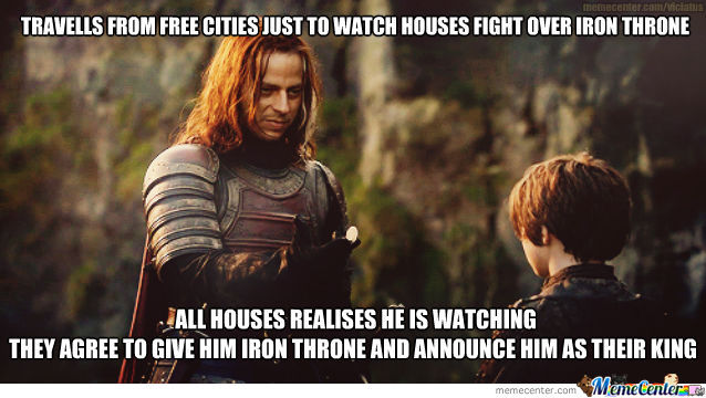 Ultra Photogenic Deadly-Guy Jaqen H'ghar