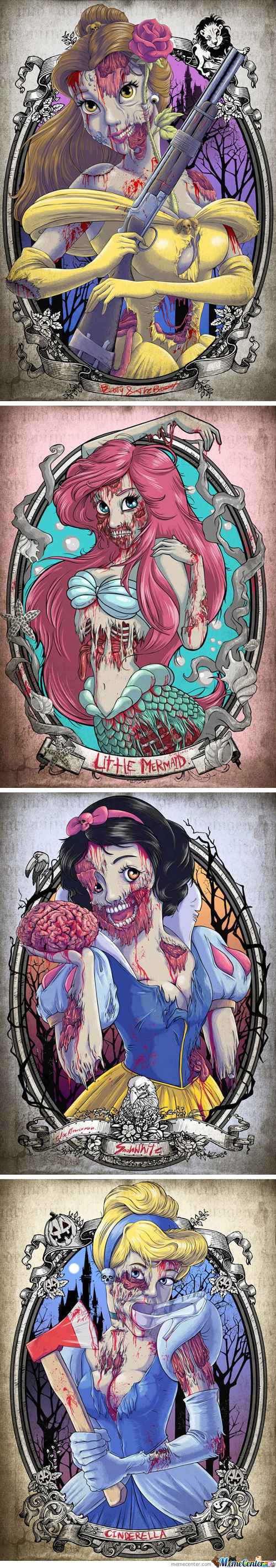 Undead Disney Princesses