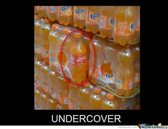 Under Cover Agent!