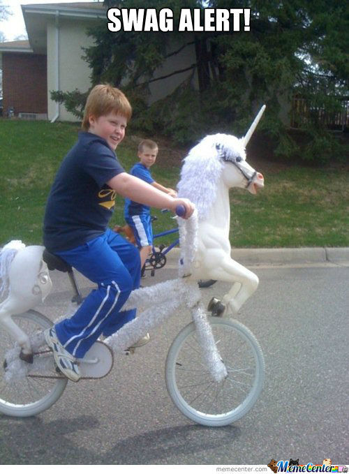 Unicorn Bike For The Win