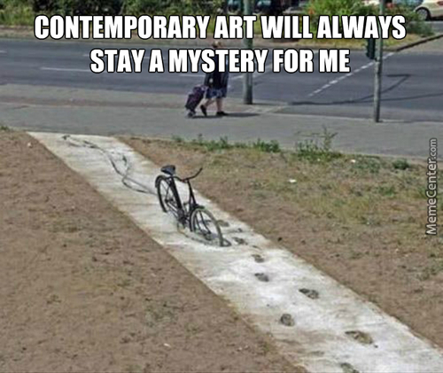 "Unknown Author: "" A Bike In The Concrete """