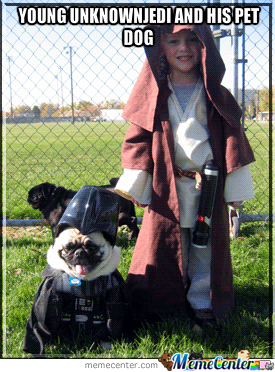 Unknown Jedi As A Child
