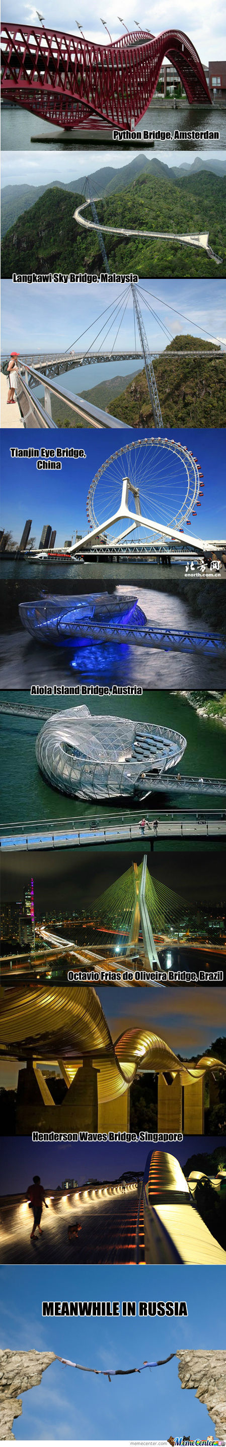 Unusual Bridges From Around The World