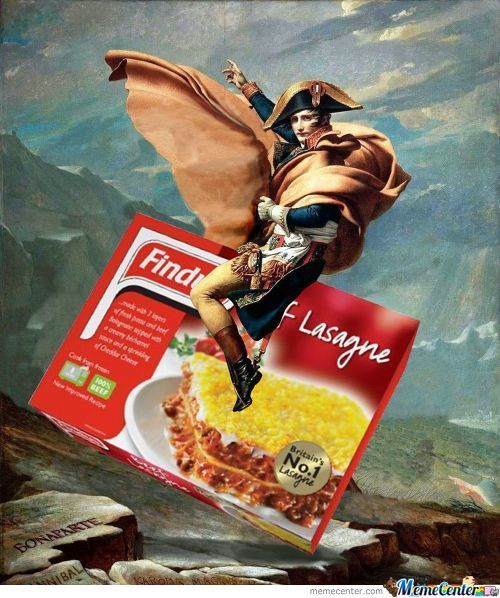 'u'rope: Lasagnes with horse meat