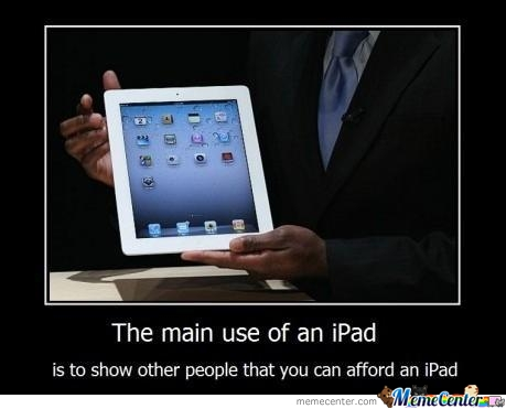 Use Of Ipad!