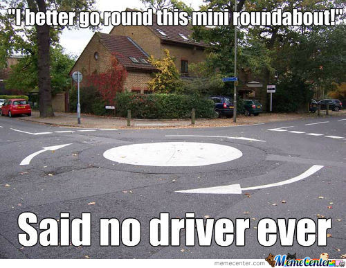 Useless Roundabouts...