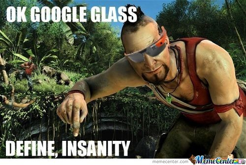 Vaas Tries Google Glass
