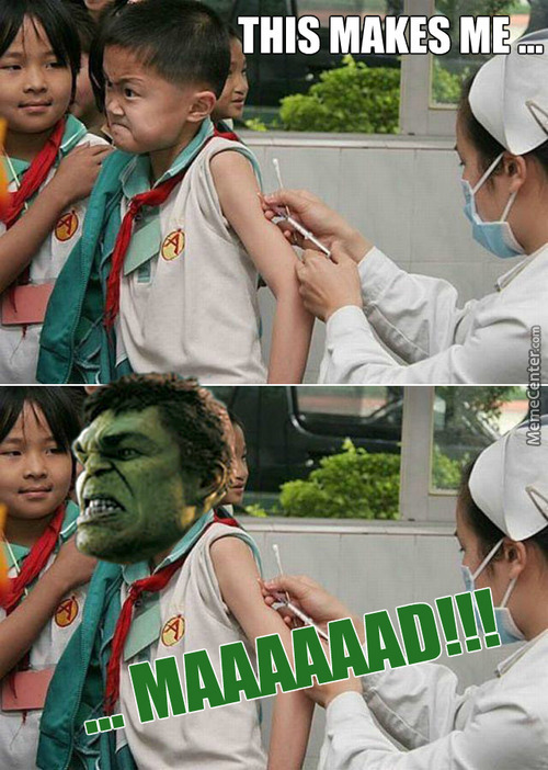 Vaccination Of The Hulk