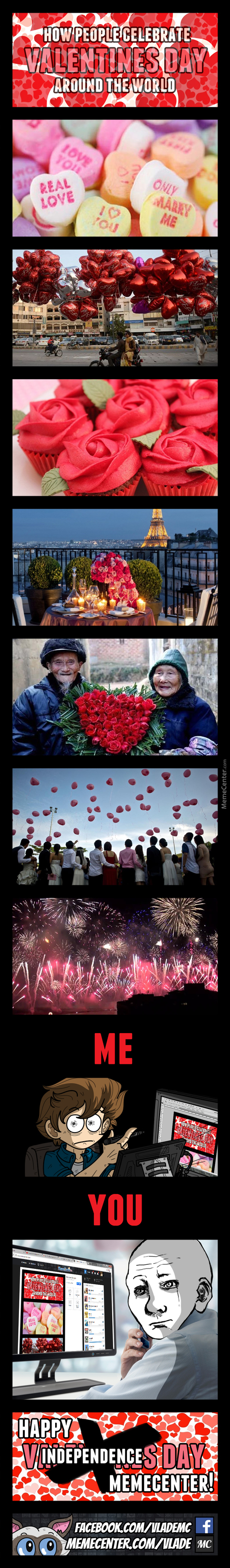 Valentines Day Around The World