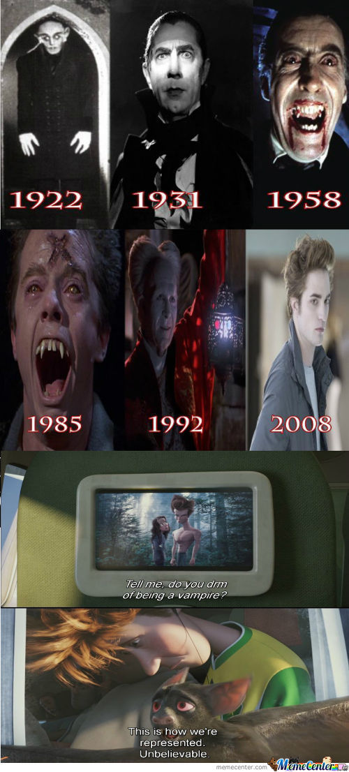 Vampires Then And Now... Just What The Fuck