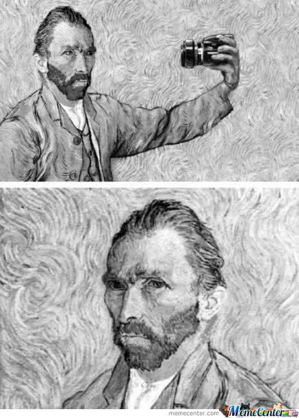 Van Gogh did it before it was cool