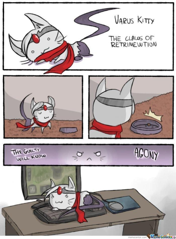 Varus The Claws Of Retrimewtion(Not Mine^^)
