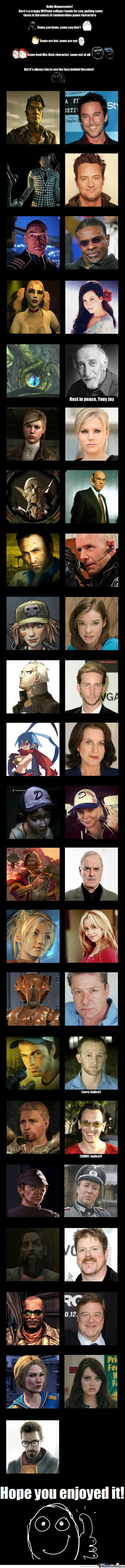 Vg Characters And Their Voice Actors