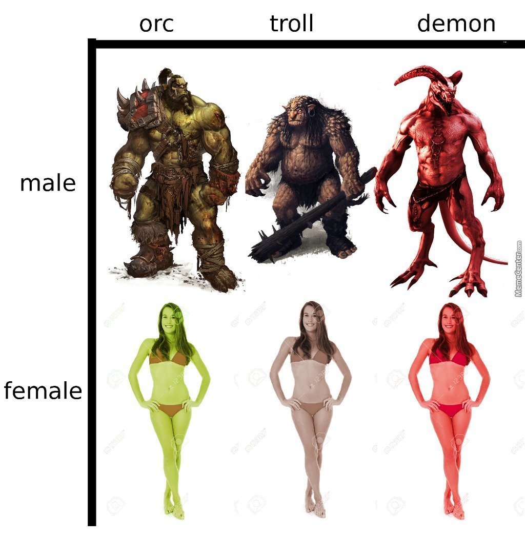 Male human vs orc female porn xxx pics