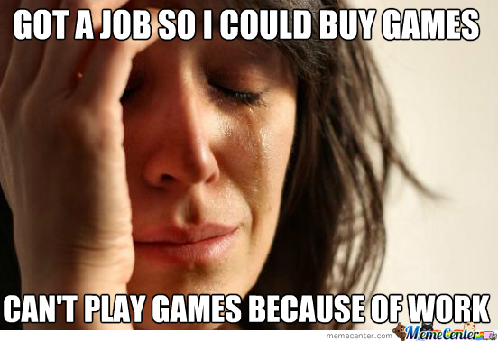Video Game Dilema