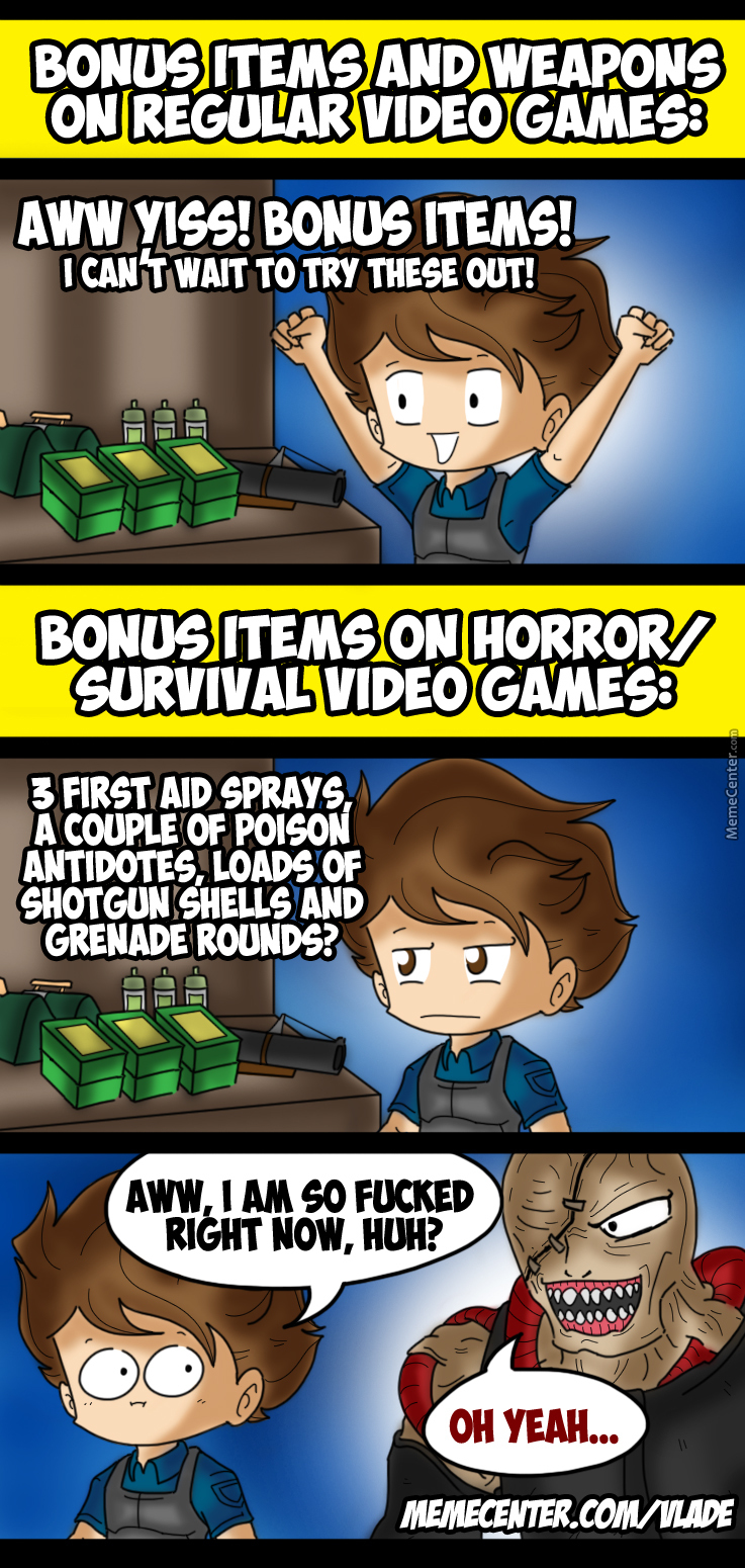 Video Game Item Bonuses