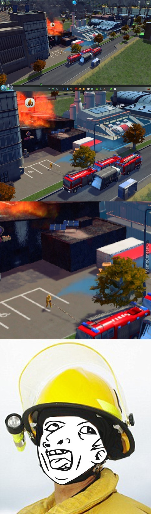 Video Game Logic - Genius Firefighter