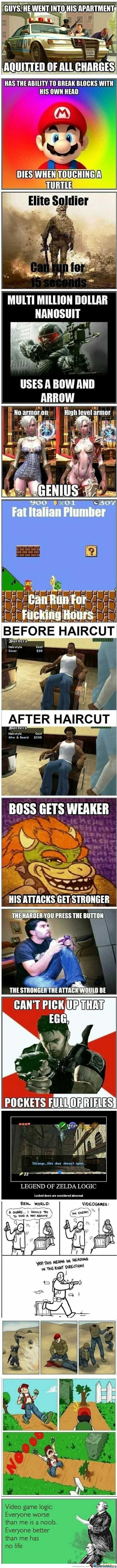 Video Games Logic