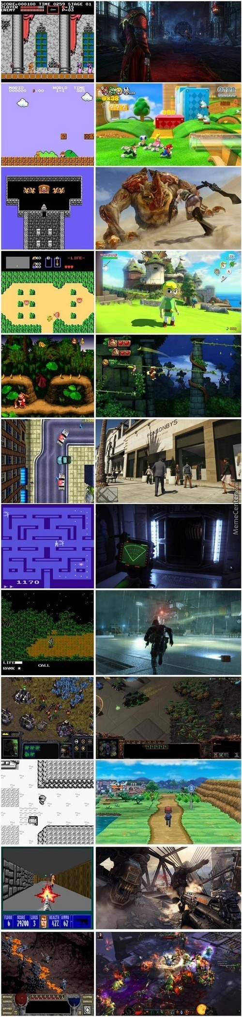 Video Games : Then And Now