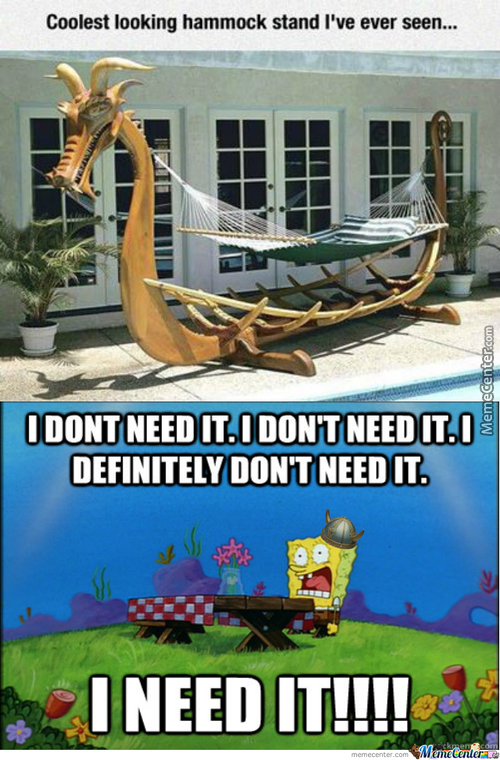 Viking Spongebob Needs It