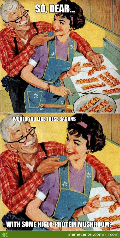Vintage Bacon Ads..