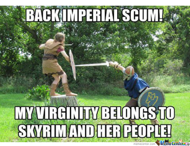 Virginity Belongs To Skyrim