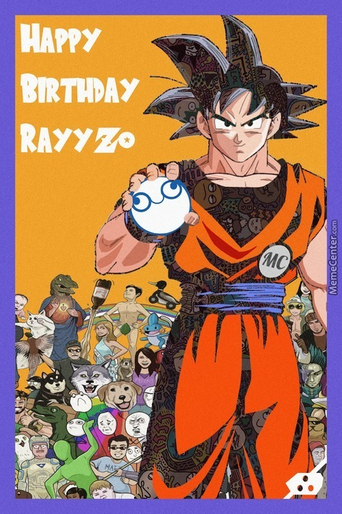 Virtual Birthday Card To Our Beloved Admin Rayyzo