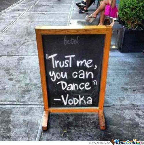 Vodka Message