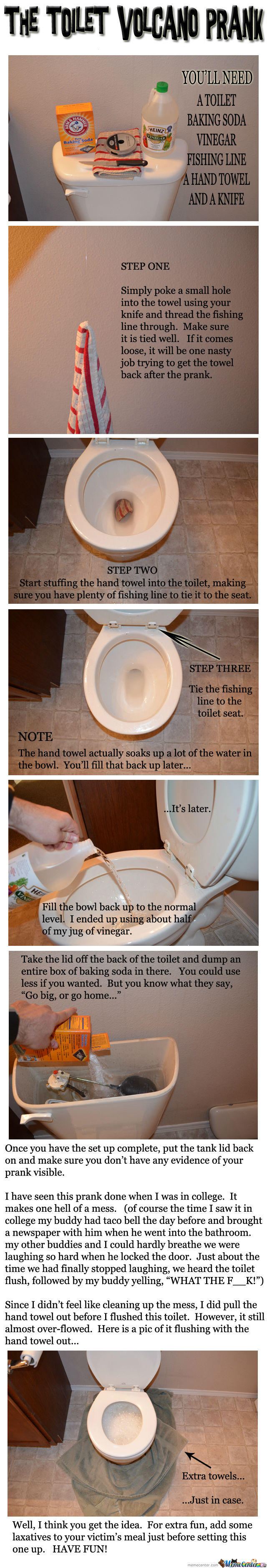 Volcano Toilet (Not Mine But Awesome Idea)