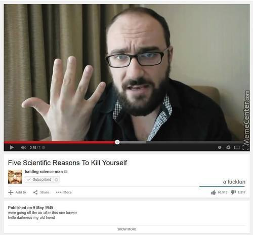Vsauce Takes A Darker Turn