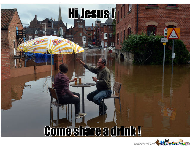 Walk On Water ? Pfffffrrt  Jesus Please