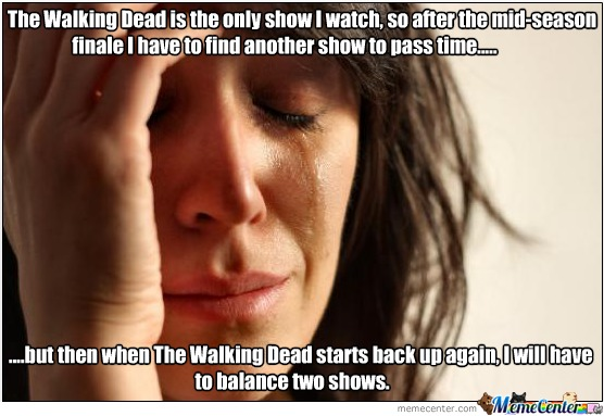 Walking Dead Mid Season Finale Memes Walking Dead Mid-season Finale